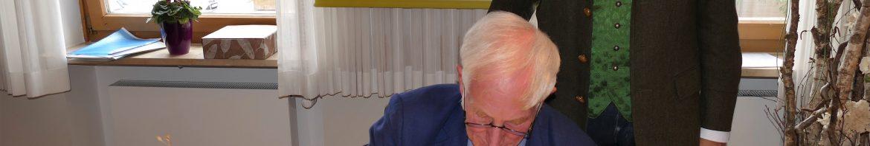 Ehrenbotschafter Manfred Holz